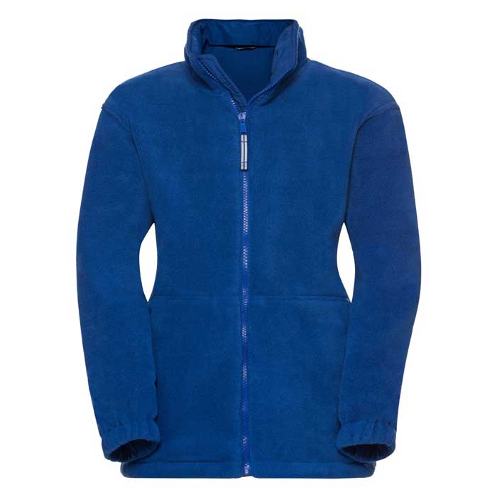 Kids Heavy Reversible Fleece - JFK875-royal-fleece