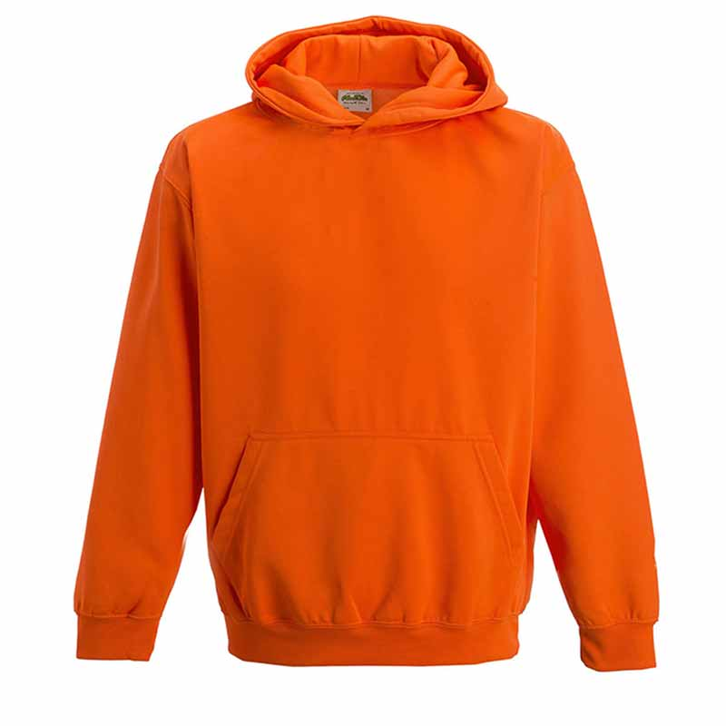Kids Just Hoods Electric Hoodie - JH004B-orange