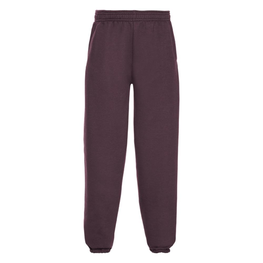 Kids Sweat Pants - JJK750-burgundy