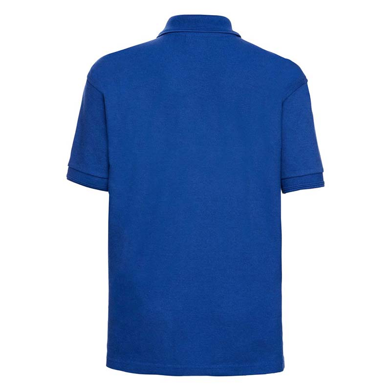 Kids Hardwearing PC Polo - JPK599-bright-royal-back