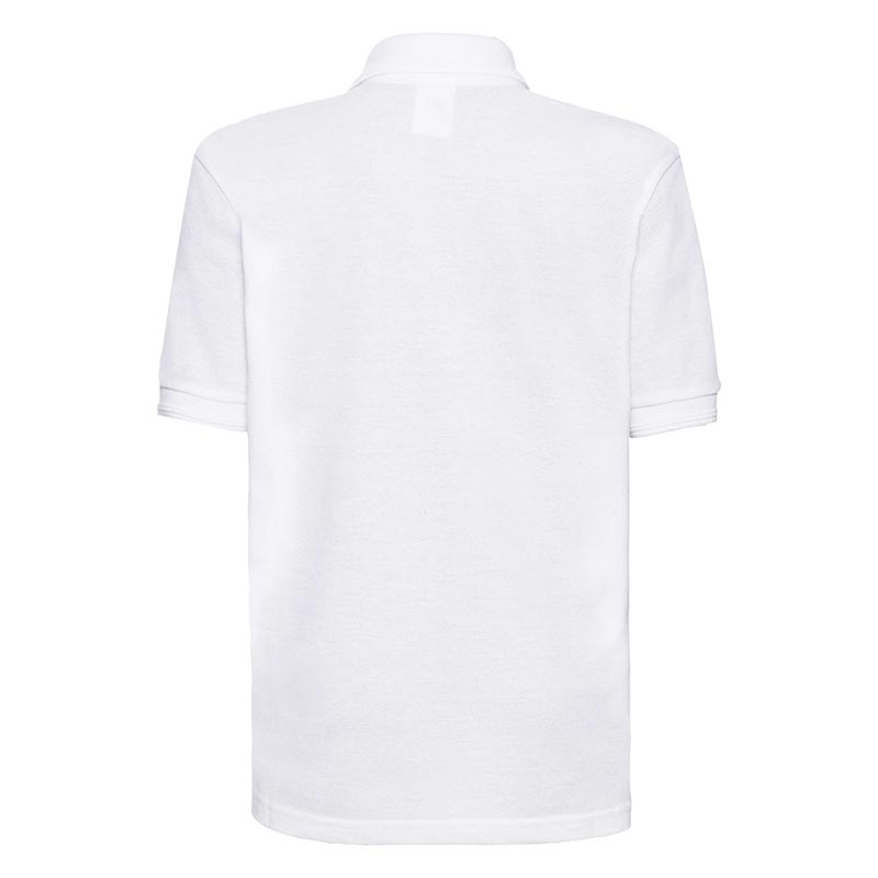 Kids Hardwearing PC Polo - JPK599-white-back