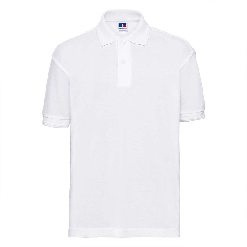 Kids Hardwearing PC Polo - JPK599-white
