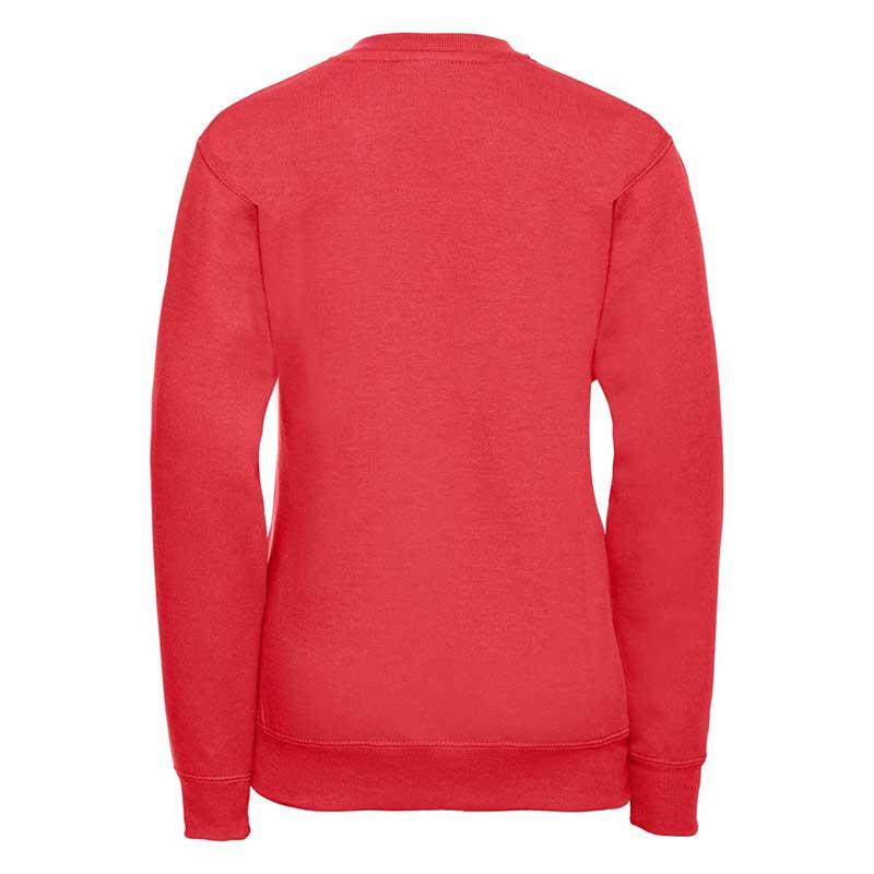 Kids V-Neck Set-In Sweatshirt - JSK272-bright-red
