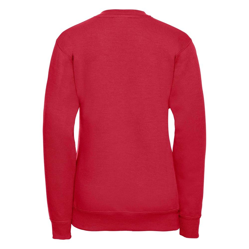 Kids V-Neck Set-In Sweatshirt - JSK272-red