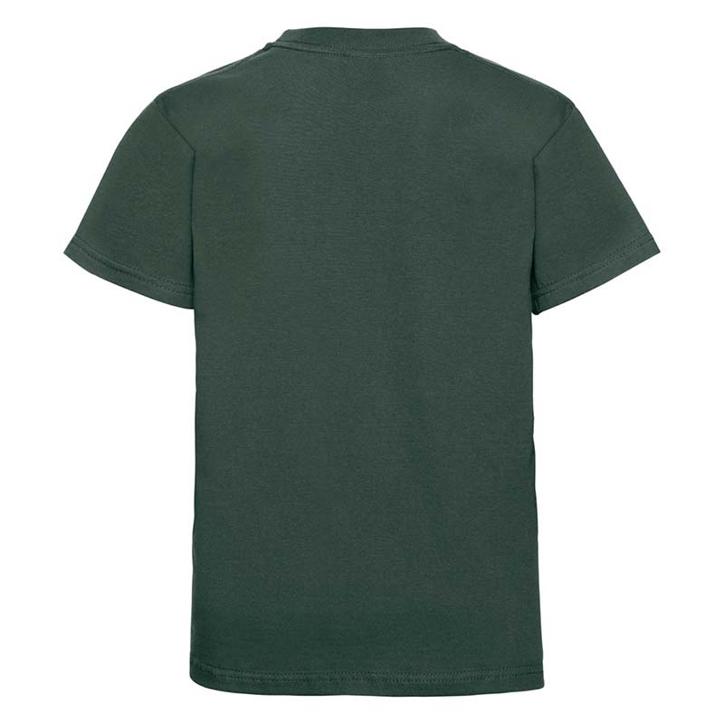 Kids Classic Crew T - JTK180-bottle-green-back