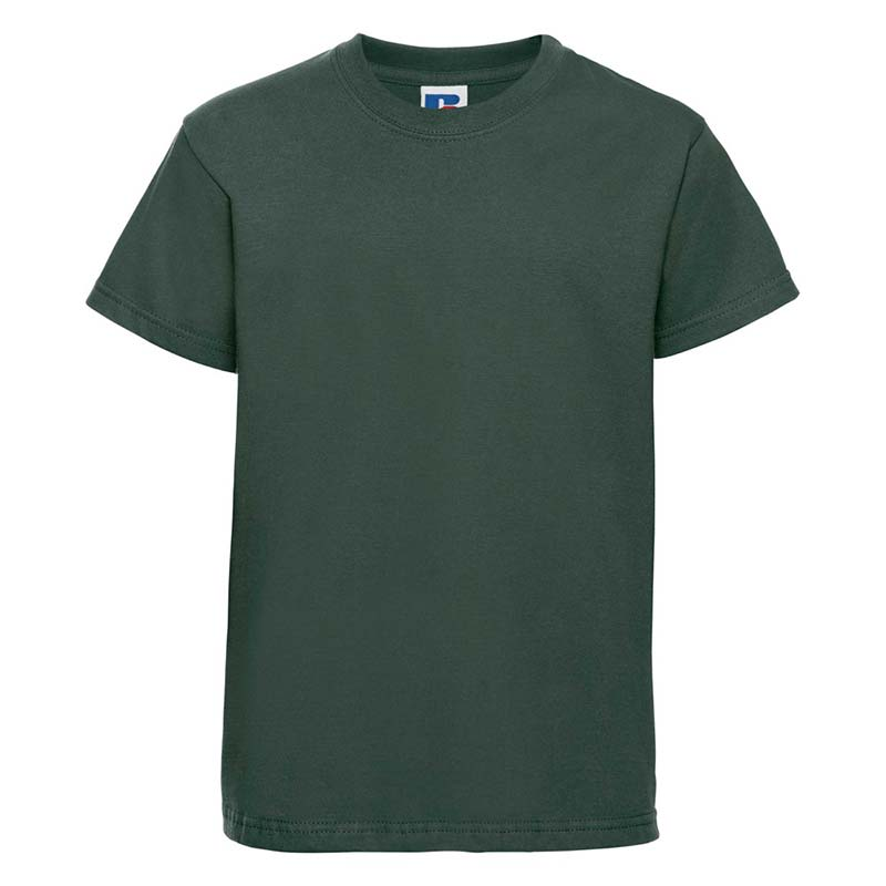 Kids Classic Crew T - JTK180-bottle-green