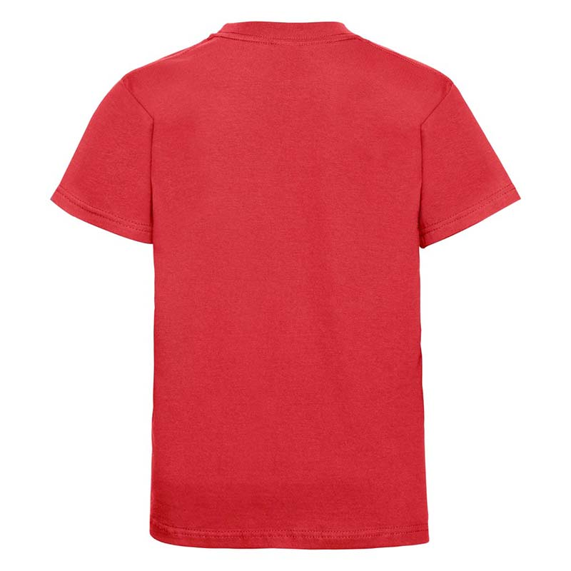 Kids Classic Crew T - JTK180-bright-red-back