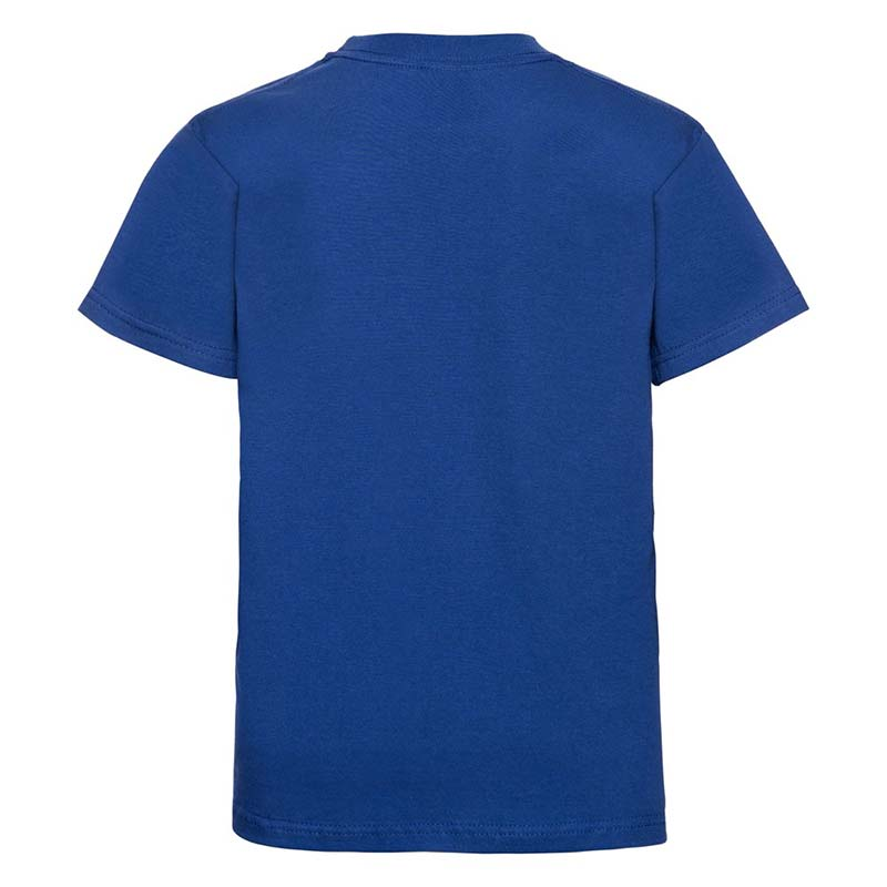 Kids Classic Crew T - JTK180-bright-royal-blue-back
