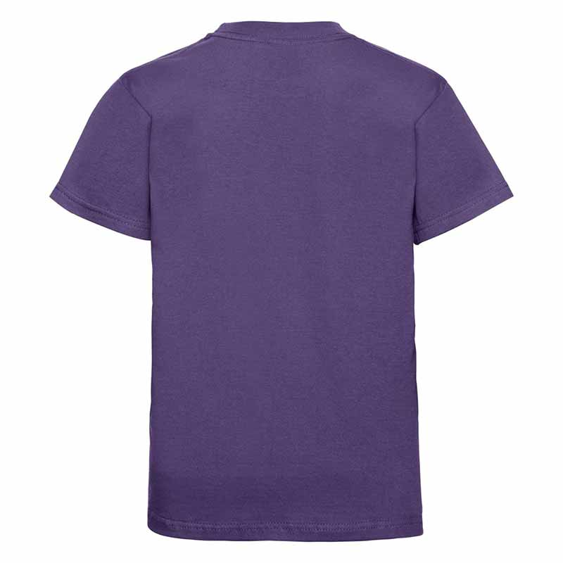 Kids Classic Crew T - JTK180-purple-back