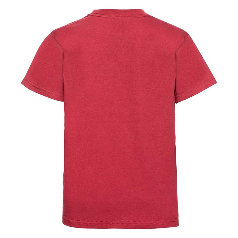 Kids Classic Crew T - JTK180-red-back