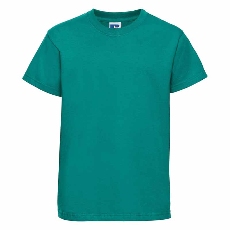 Kids Classic Crew T - JTK180-winter-emerald