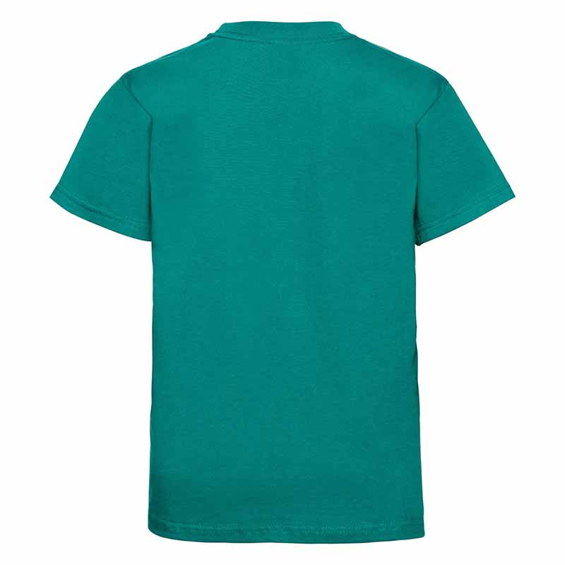 Kids Classic Crew T - JTK180-winter0emerald-back