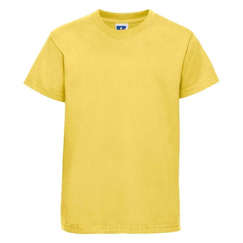 Kids Classic Crew T - JTK180-yellow