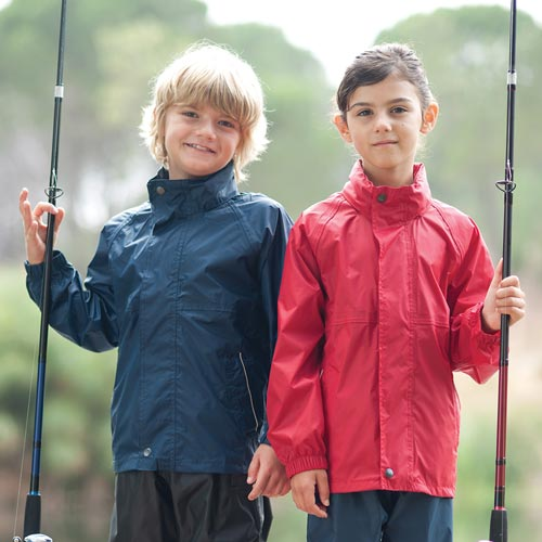 Kids Isolite Waterproof Breathable Jacket - RJAK943