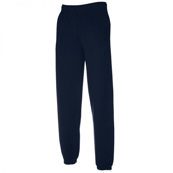 280gsm 80/20 CP Classic Elasticated Cuff Jog Pants - SJA-deep-navy
