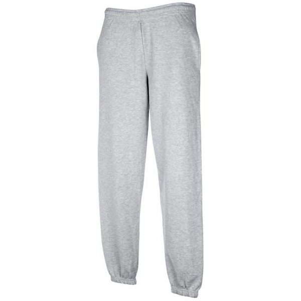 280gsm 80/20 CP Classic Elasticated Cuff Jog Pants - SJA-grey