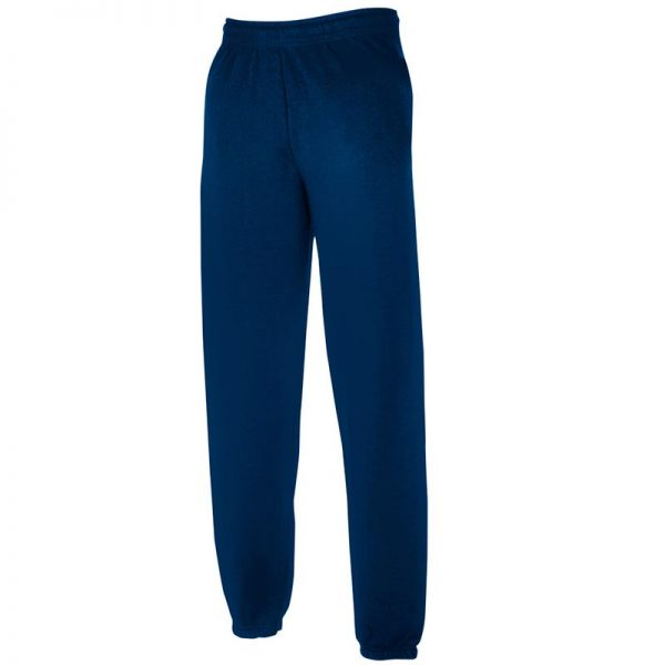 280gsm 80/20 CP Classic Elasticated Cuff Jog Pants - SJA-navy