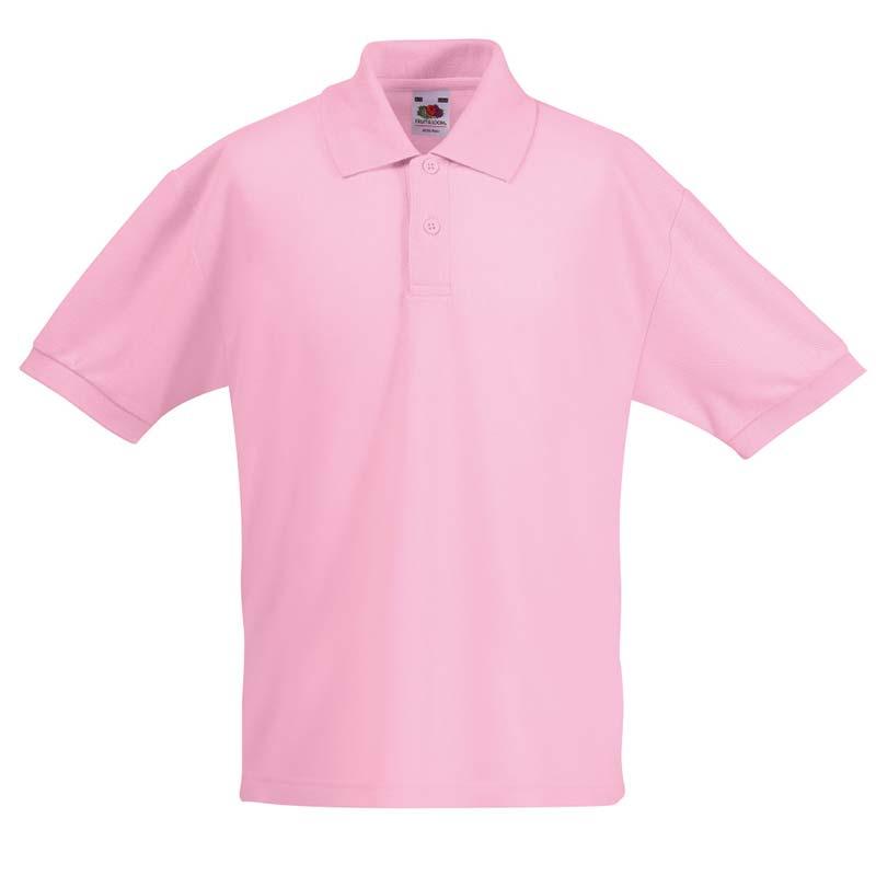 Kids Standard PC Polo - SPK-pink