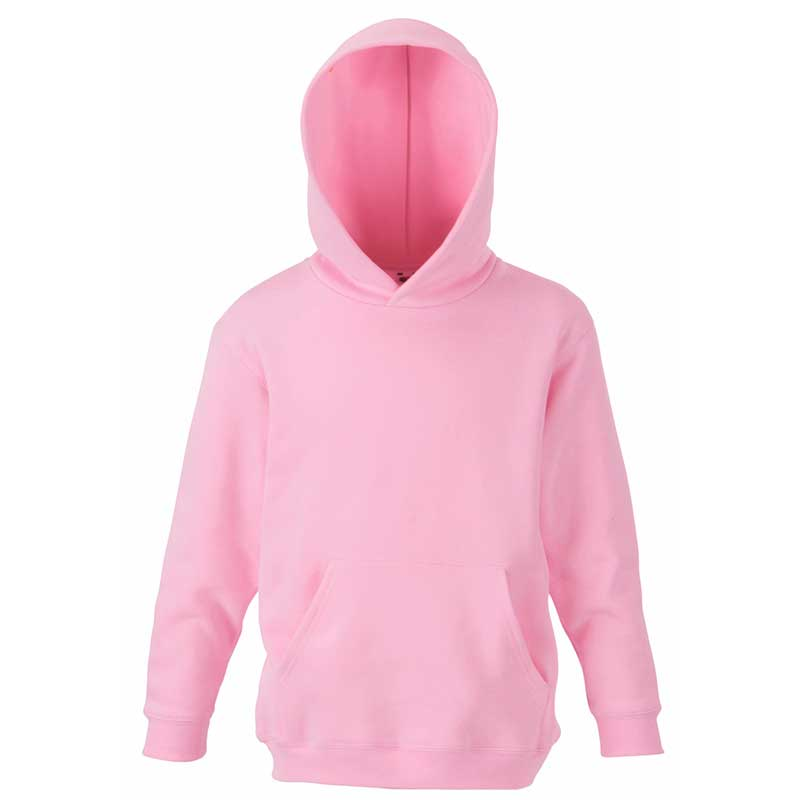Kids Set-In Hooded Sweatshirt - SSHK-pink