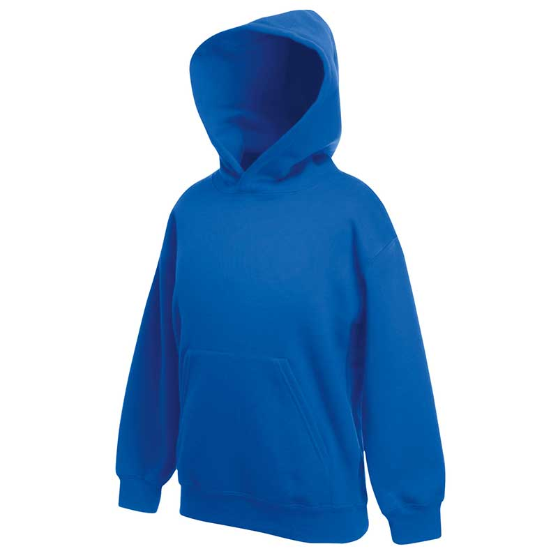 Kids Set-In Hooded Sweatshirt - SSHK-royal