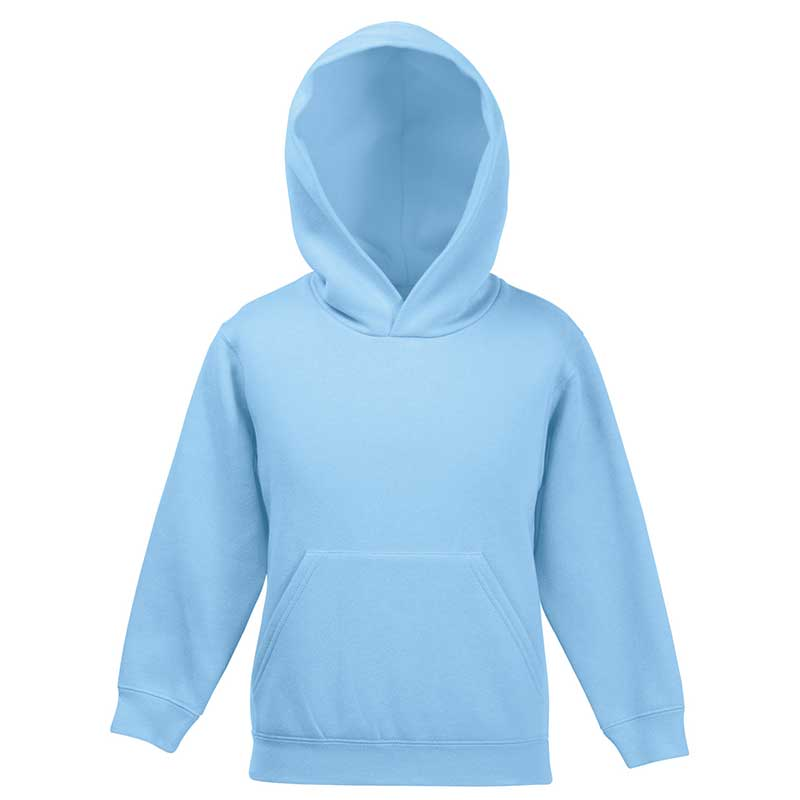 Kids Set-In Hooded Sweatshirt - SSHK-sky