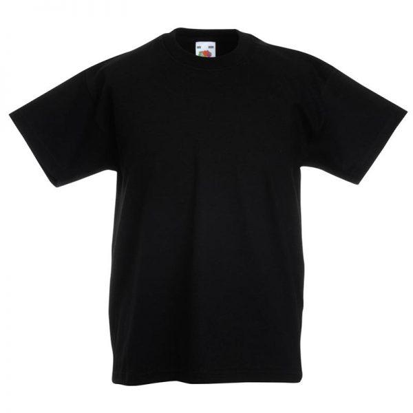 Kids & Toddlers Valueweight Crew T-Shirt - STVK-black