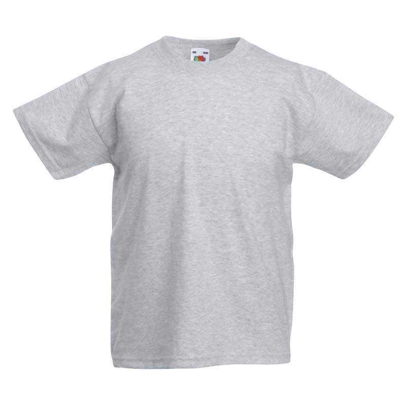 Kids & Toddlers Valueweight Crew T-Shirt - STVK-heather-grey
