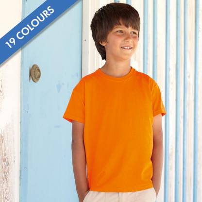 Kids & Toddlers Valueweight Crew T-Shirt - STVK