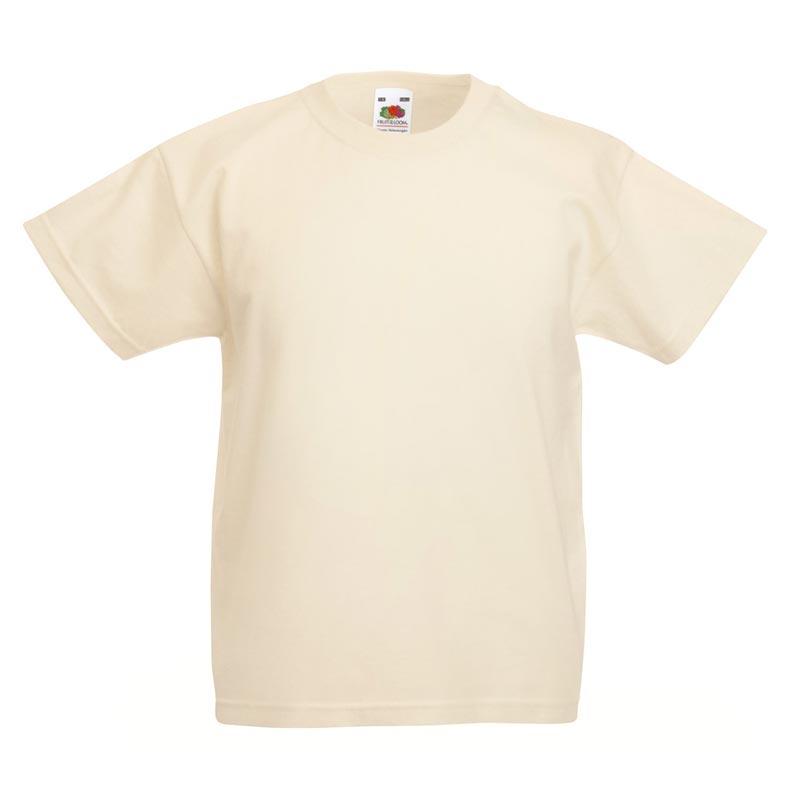 Kids & Toddlers Valueweight Crew T-Shirt - STVK-natural
