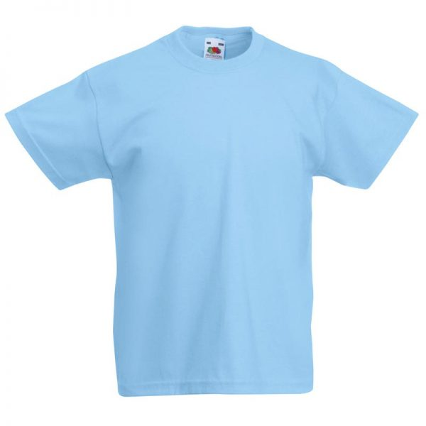 Kids & Toddlers Valueweight Crew T-Shirt - STVK-sky
