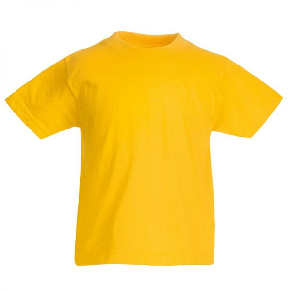 Kids & Toddlers Valueweight Crew T-Shirt - STVK-sunflower