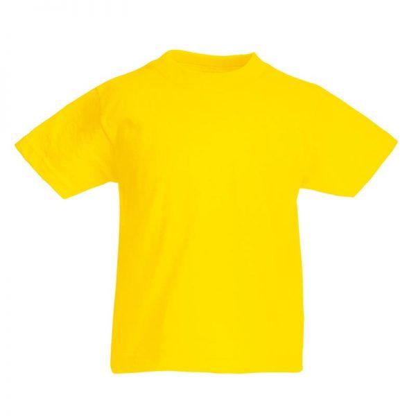 Kids & Toddlers Valueweight Crew T-Shirt - STVK-yellow