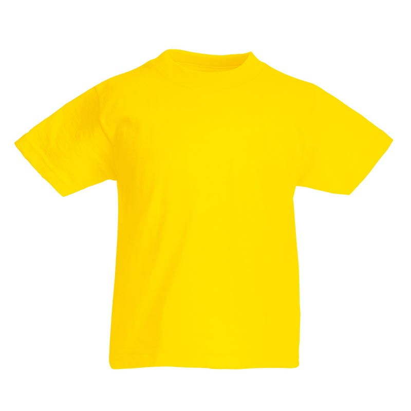 Kids & Toddlers Valueweight Crew T-Shirt - STVK-yellow