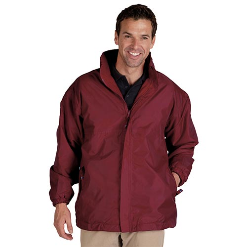 Reversible Waterproof Jacket-TFA05-burgundy
