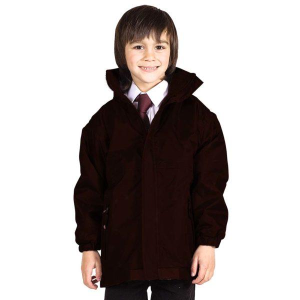 Kids Premium Reversible Waterproof Fleece TFK06-brown