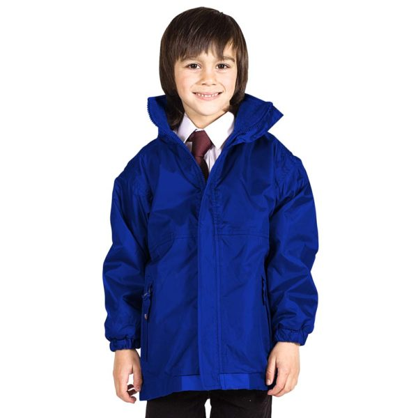 Kids Premium Reversible Waterproof Fleece TFK06-royal