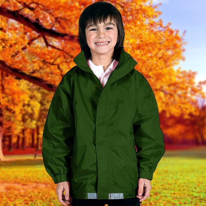 135gsm Kids College Jacket - TJAK01-bottle