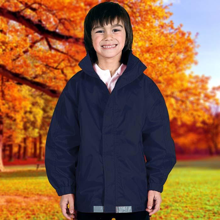 135gsm Kids College Jacket - TJAK01-navy