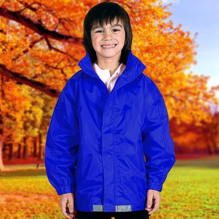 135gsm Kids College Jacket - TJAK01-royal
