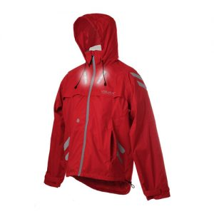 LED Hi-Vis 'Highlight Hooded' Cyclist Equestrian Jacket