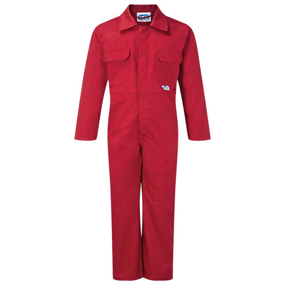 Tearaway Junior Coverall - WBSK333-red