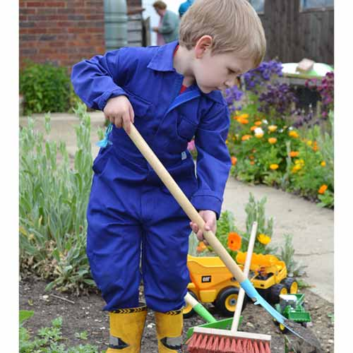 Tearaway Junior Coverall - WBSK333-royal