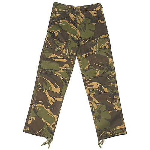 Kids Multi-Pocket Combat Trousers-WTRK20