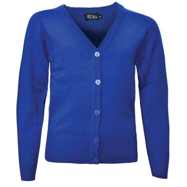 Girls' Cotton Mix Knitted Cardigan