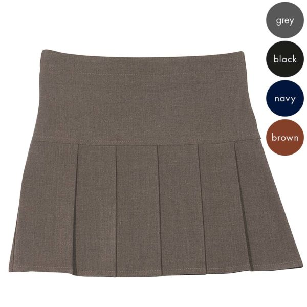 Girls Hand Pleat Skirt - Secondary CSKG113