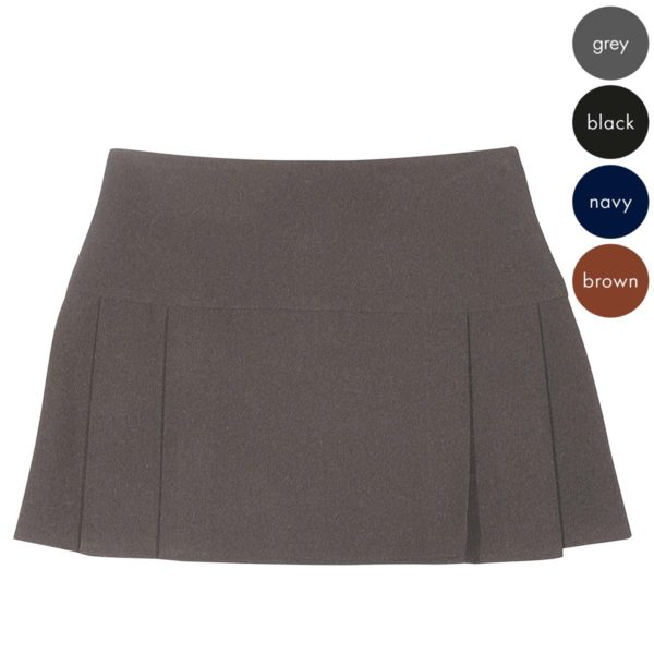 Girls 8 Pleat Skirt - Secondary CSKG117