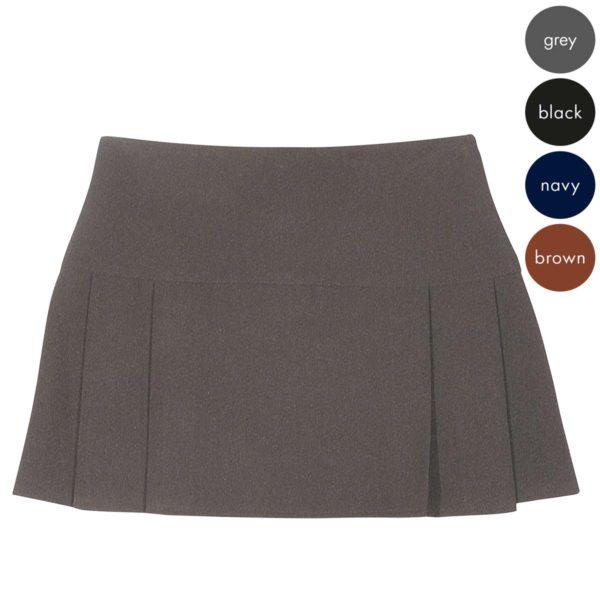 Girls 8 Pleat Skirt - Secondary CSKG117