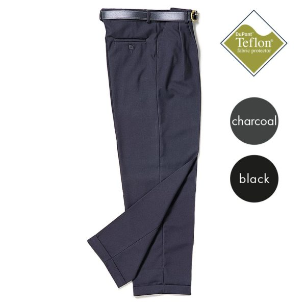 Full-Waist Pleated Trousers - Secondary CTRB08