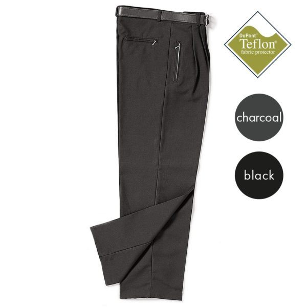 Full-Waist Pleated Trousers - Secondary CTRB09