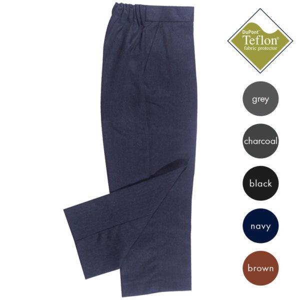 Zip Front Trouser (Elastic Waist Adjuster) CTRB21